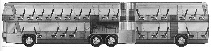 схема двухэтажного автобуса с гармошкой - Моя семья - Фотоальбом - Пассажирские перевозки по Киеву, Украине...